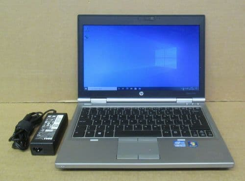 "HP Elitebook 2570p 12.5"" HD i5-3320M 2.6Ghz 4GB Ram 120GB SSD Win10 Pro Laptop"